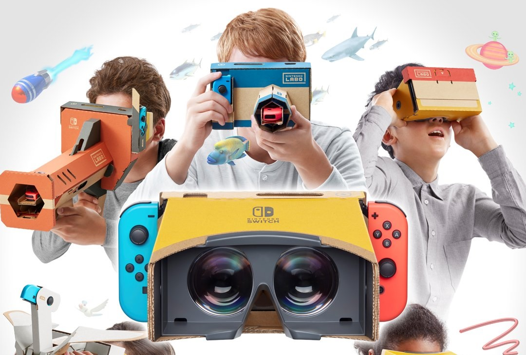 Nintendo just stealth announced a Labo VR kit screenshot