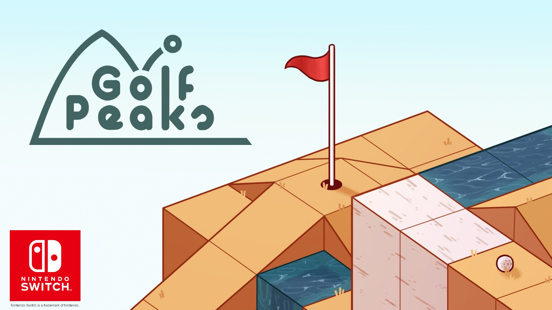 Contest: Win a Switch copy of Golf Peaks screenshot