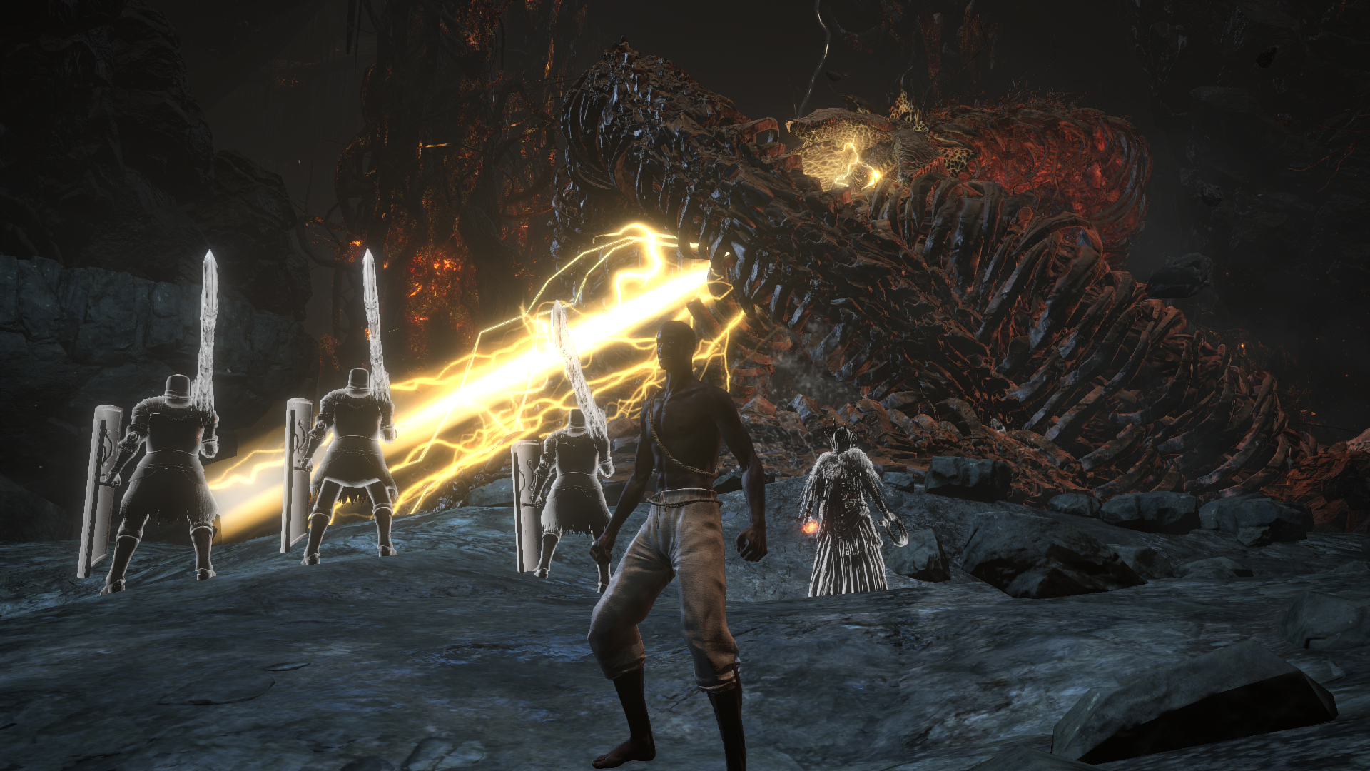 Souls boss says he wants to tackle the battle royale genre, but single player games are thriving screenshot