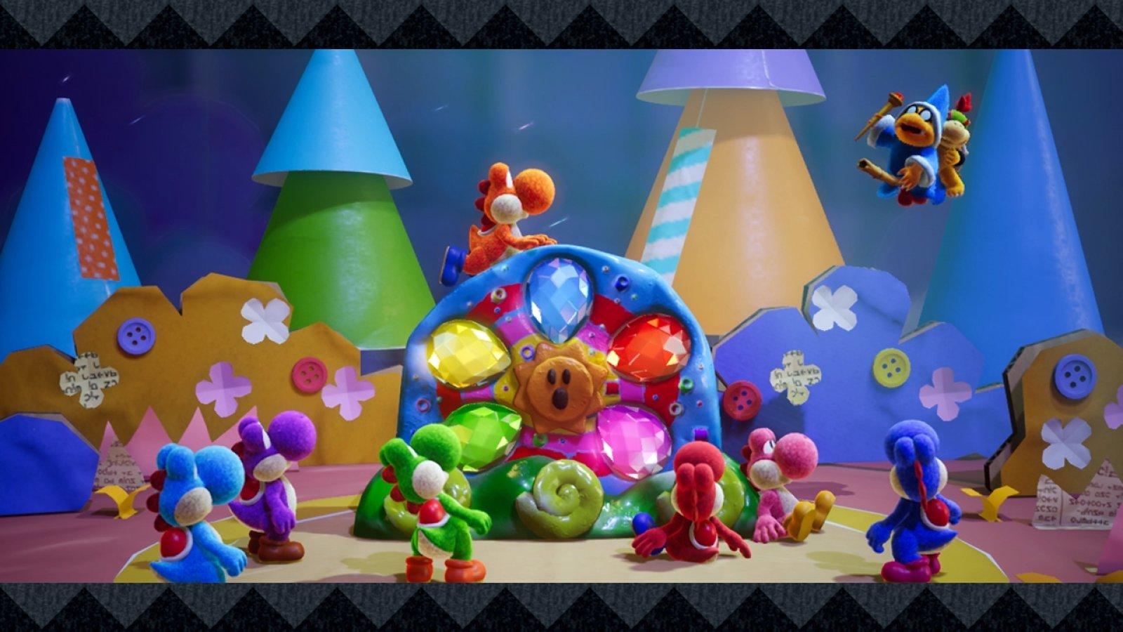 Review: Yoshi's Crafted World screenshot