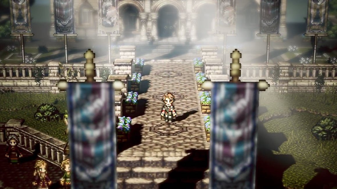 Octopath Traveler is making a pit stop on mobile screenshot
