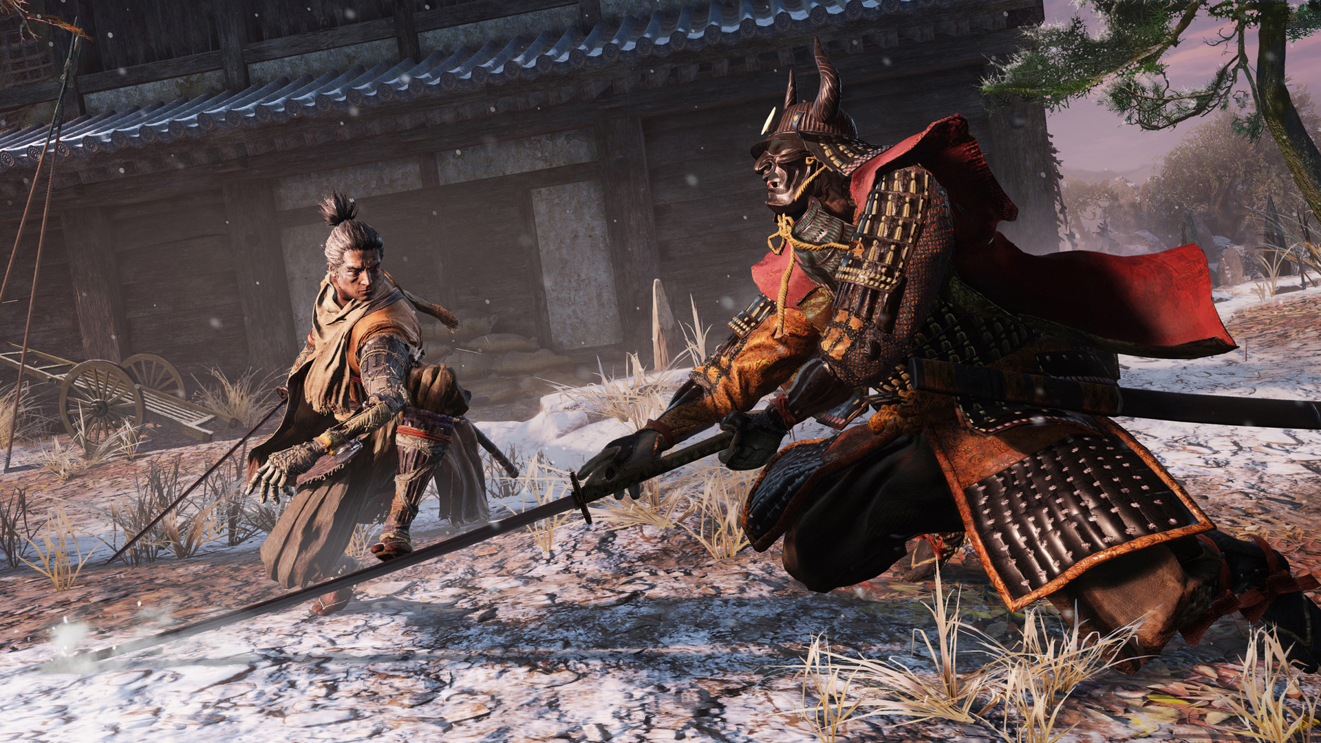 After Bloodborne and Dark Souls III, I'm skipping Sekiro's launch trailer screenshot