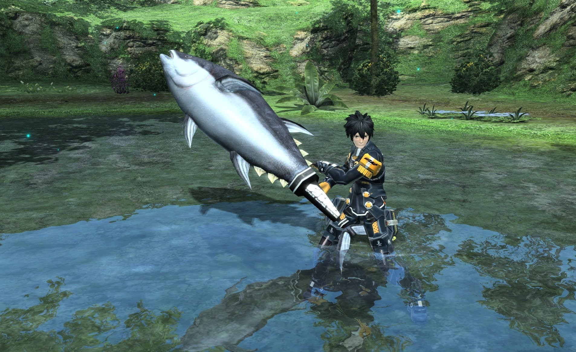 Phantasy Star Online 2 just hit one million users on PS4, now bring it west please screenshot