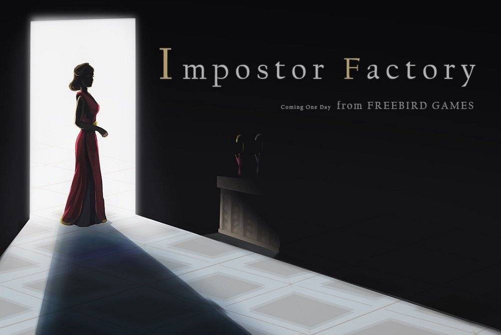 To the Moon creator returns with new title Impostor Factory screenshot