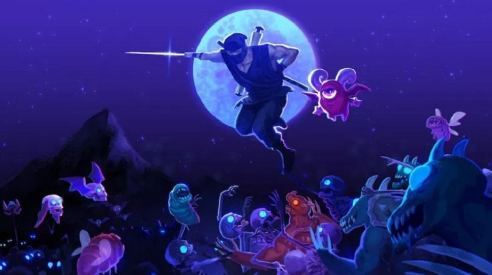 The Messenger will bring its ninja rap to PS4 on March 19 screenshot