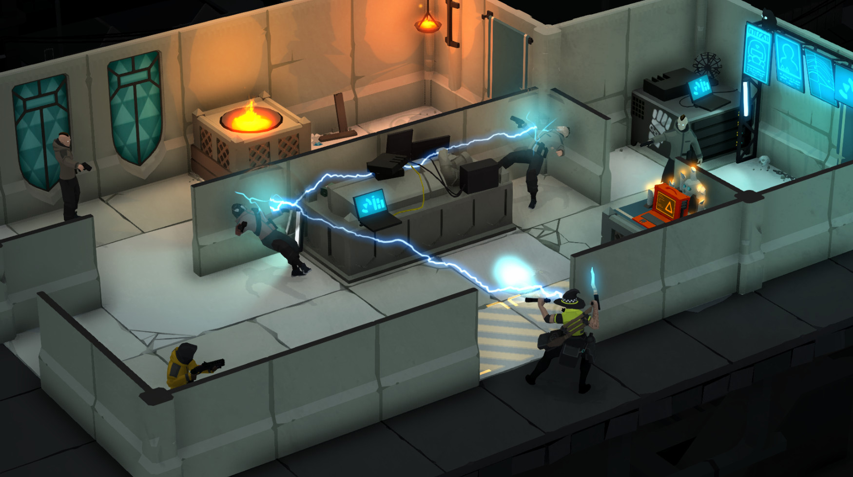 Gunpoint creator's Tactical Breach Wizards is wild enough to work screenshot