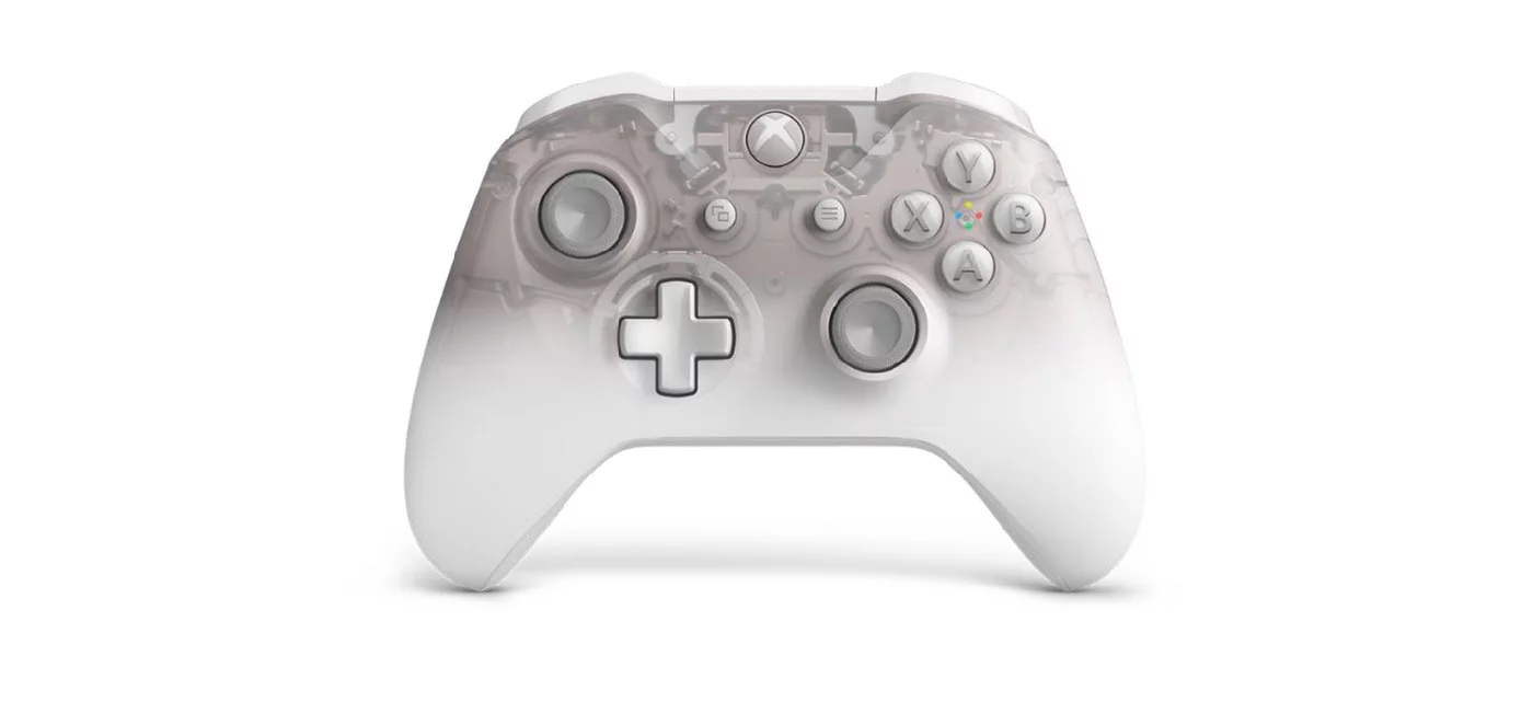 Phantom White Xbox One controller