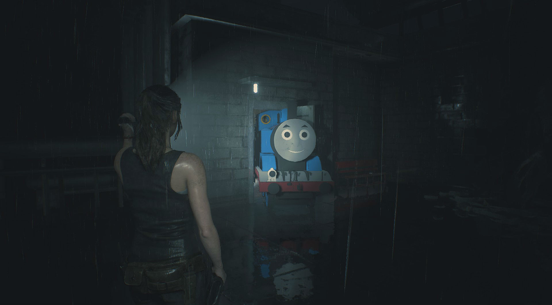 Watch the full Resident Evil 2 remake developer commentary series now screenshot