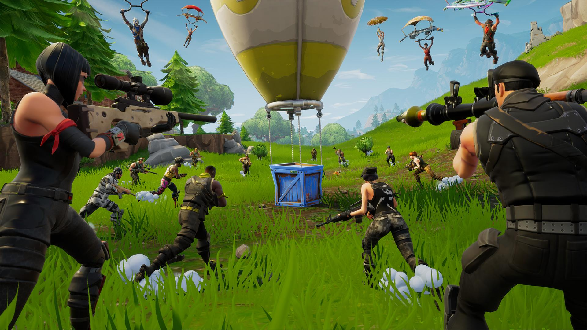 New Fortnite patch forces Switch players into the same queue as mobile users screenshot
