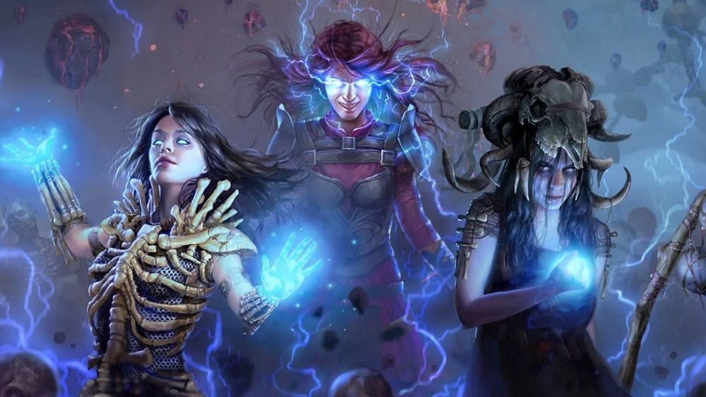 Path of Exile finally cutting a swathe through PS4 this month screenshot