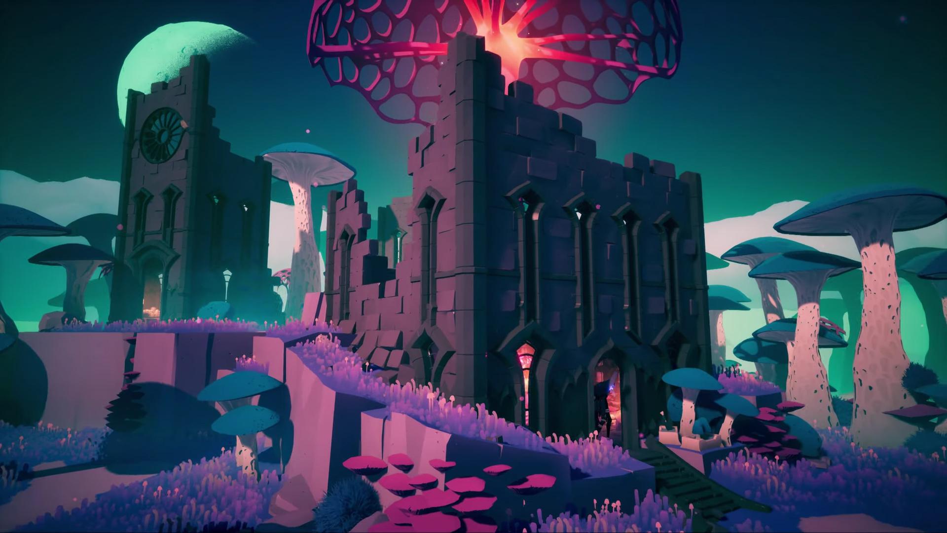 Solar Ash Kingdom has that same Hyper Light Drifter spirit screenshot