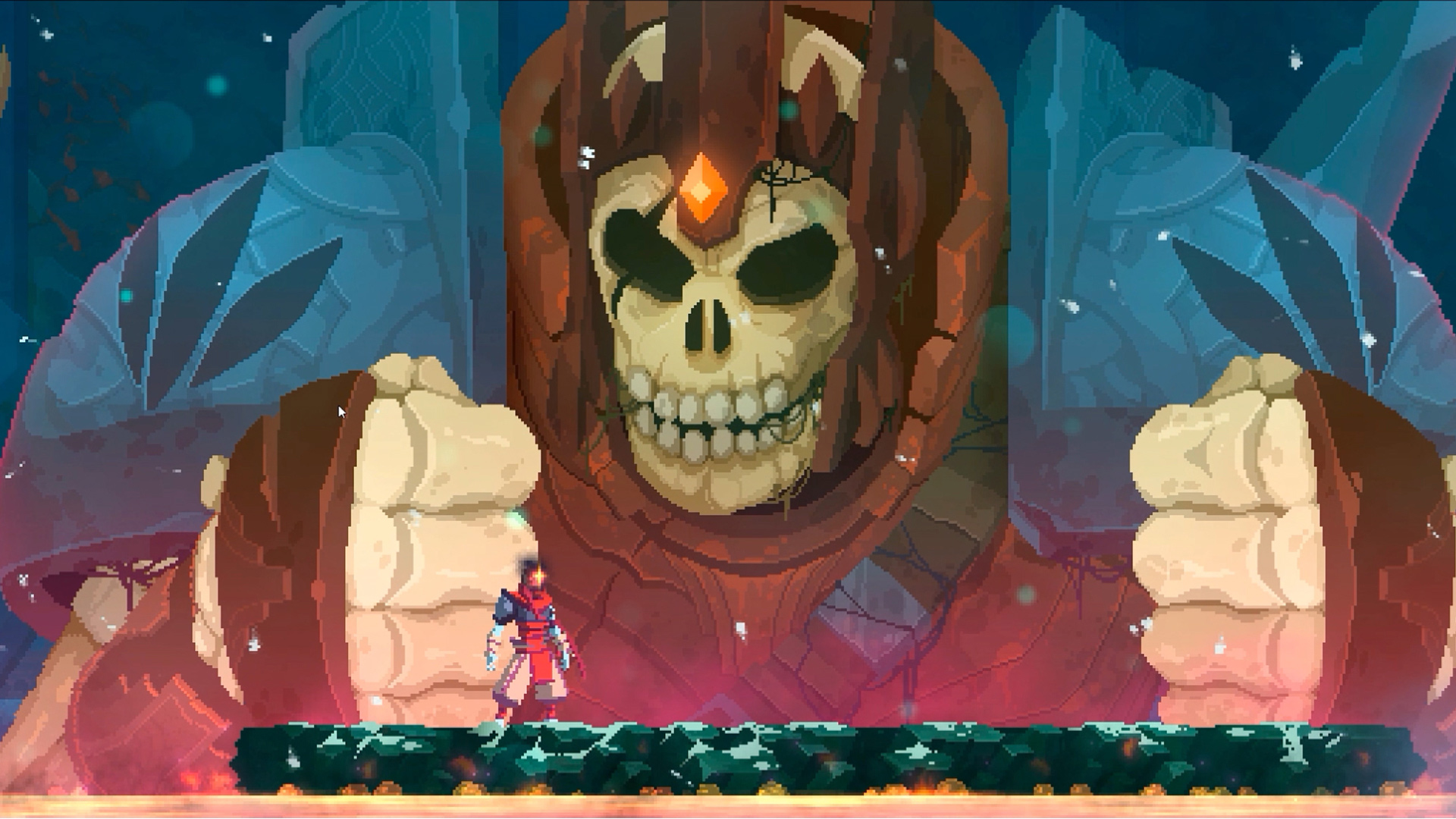 The first Dead Cells DLC is gonna rough us up screenshot