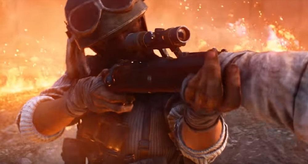 Incendiary Battlefield V trailer announces release date for Firestorm battle royale screenshot