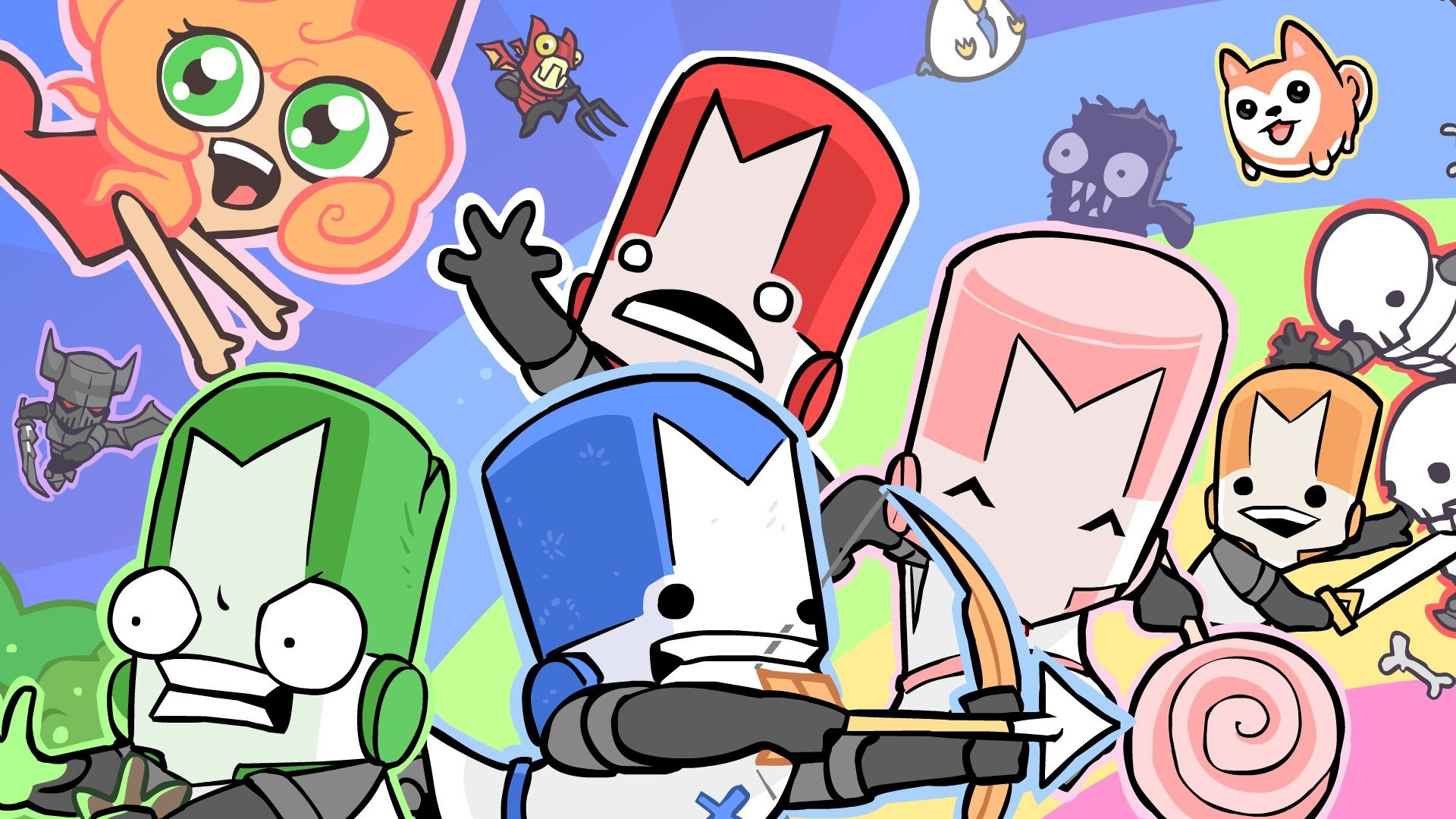 Sign me up for Castle Crashers on Switch screenshot