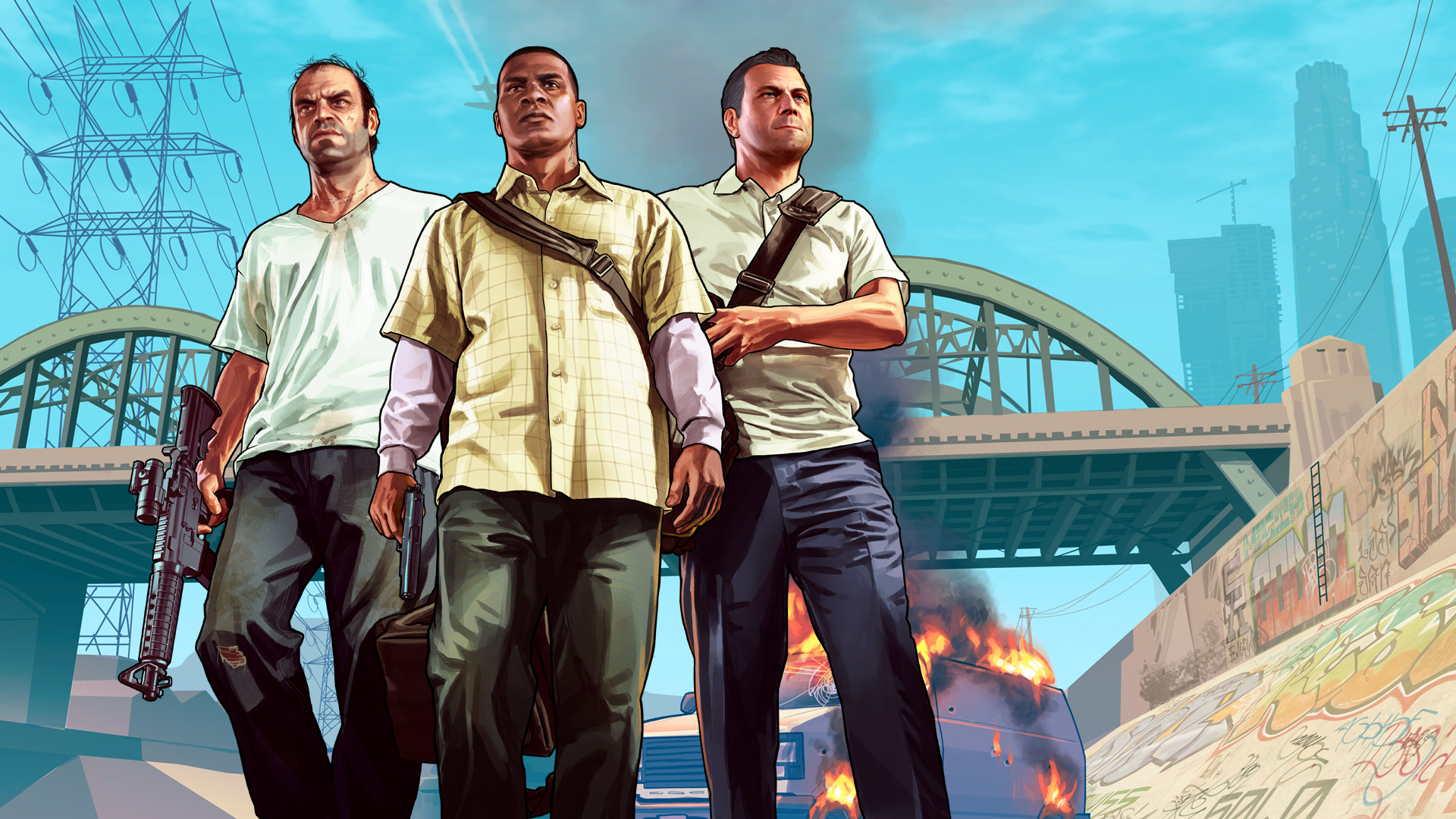 Sorry, but Sony says it's definitely not trying to buy Rockstar and 2K screenshot