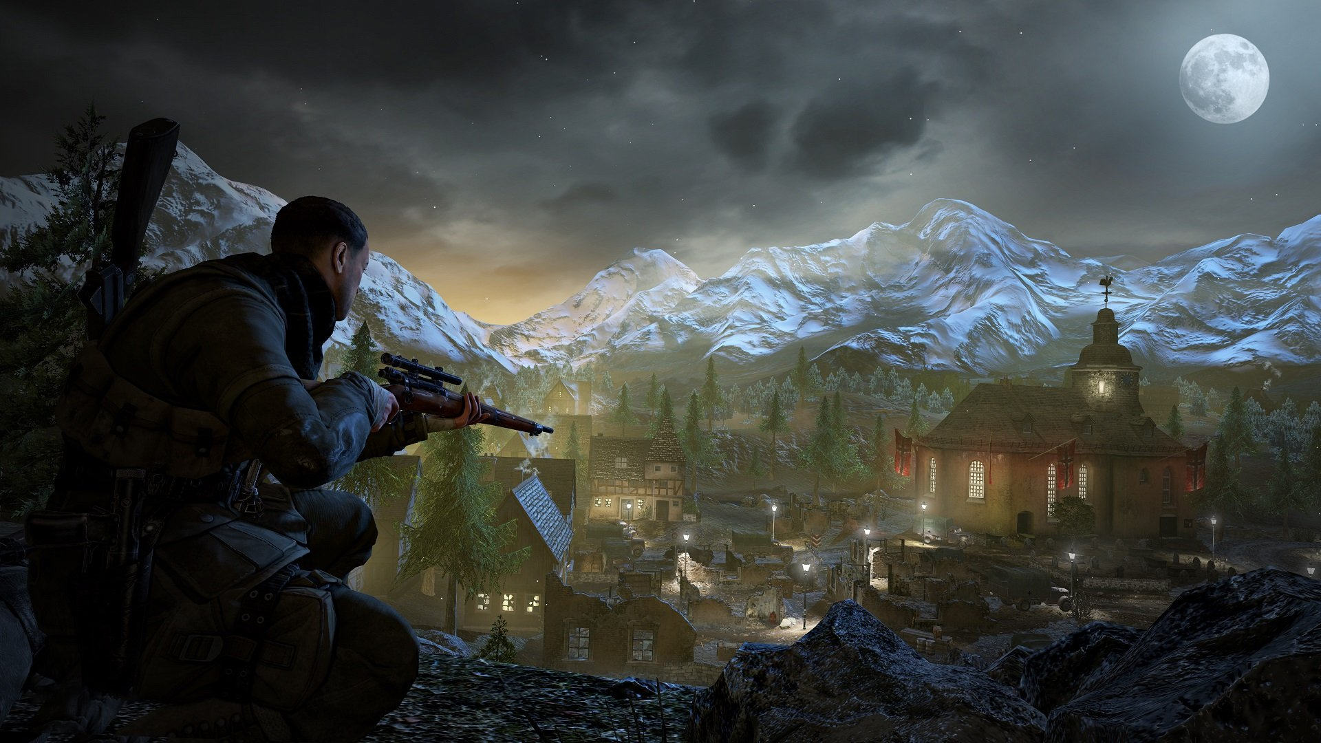 Here are four Sniper Elite announcements all at once screenshot