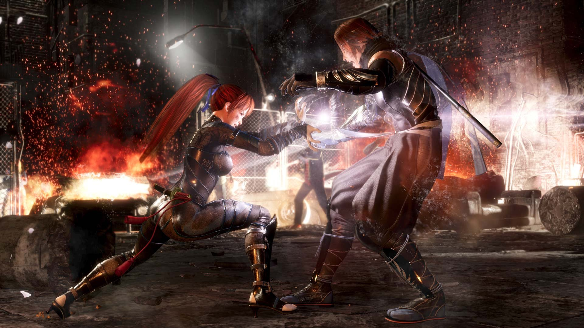 Dead or Alive 6 launches free four-character sampler screenshot