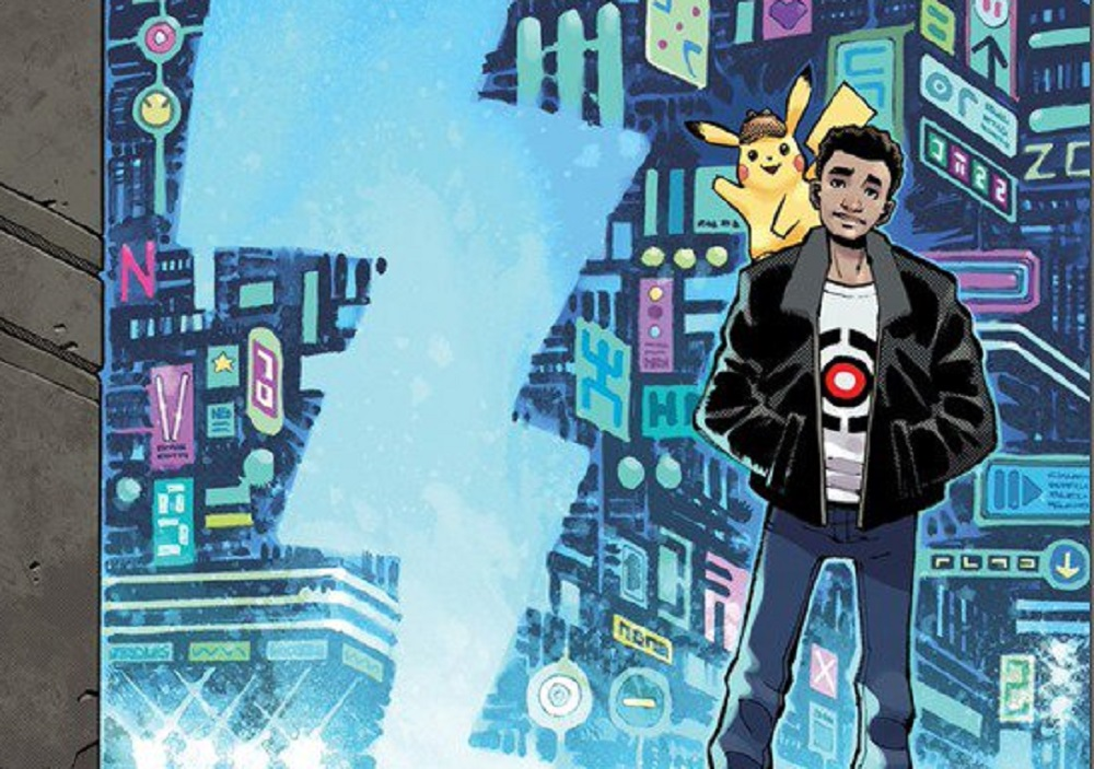 Detective Pikachu will also patrol store shelves in comic book form screenshot