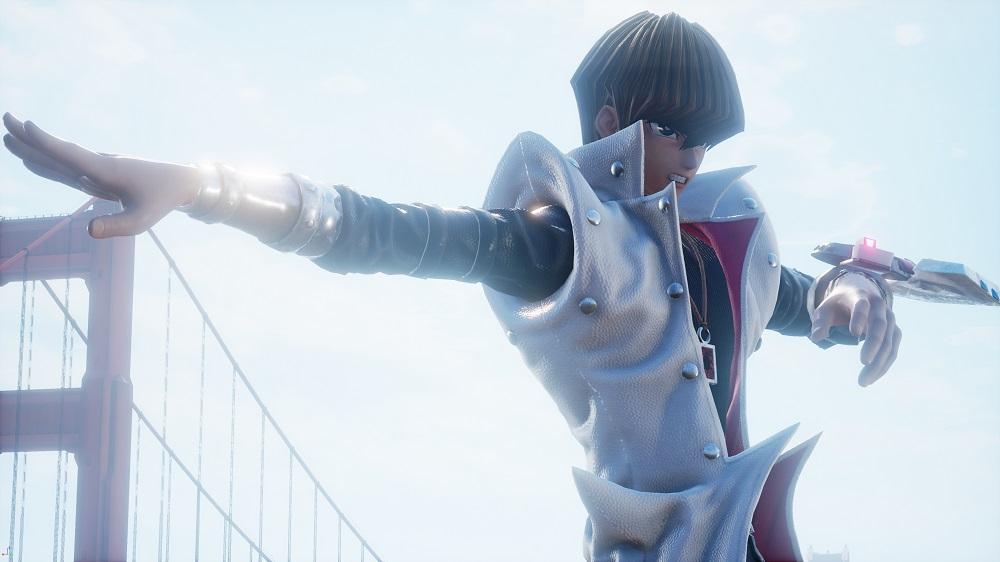 Jump Force reveals Yu-Gi-Oh! star Seto Kaiba and dates further DLC screenshot