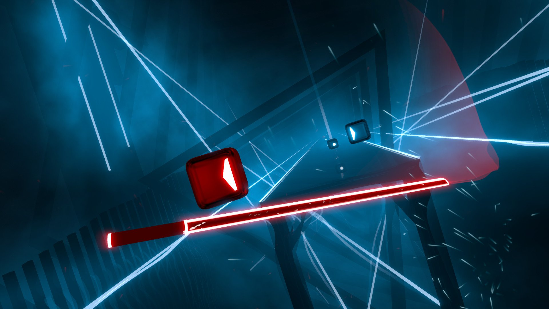 The unstoppable Beat Saber is coming to Oculus Quest