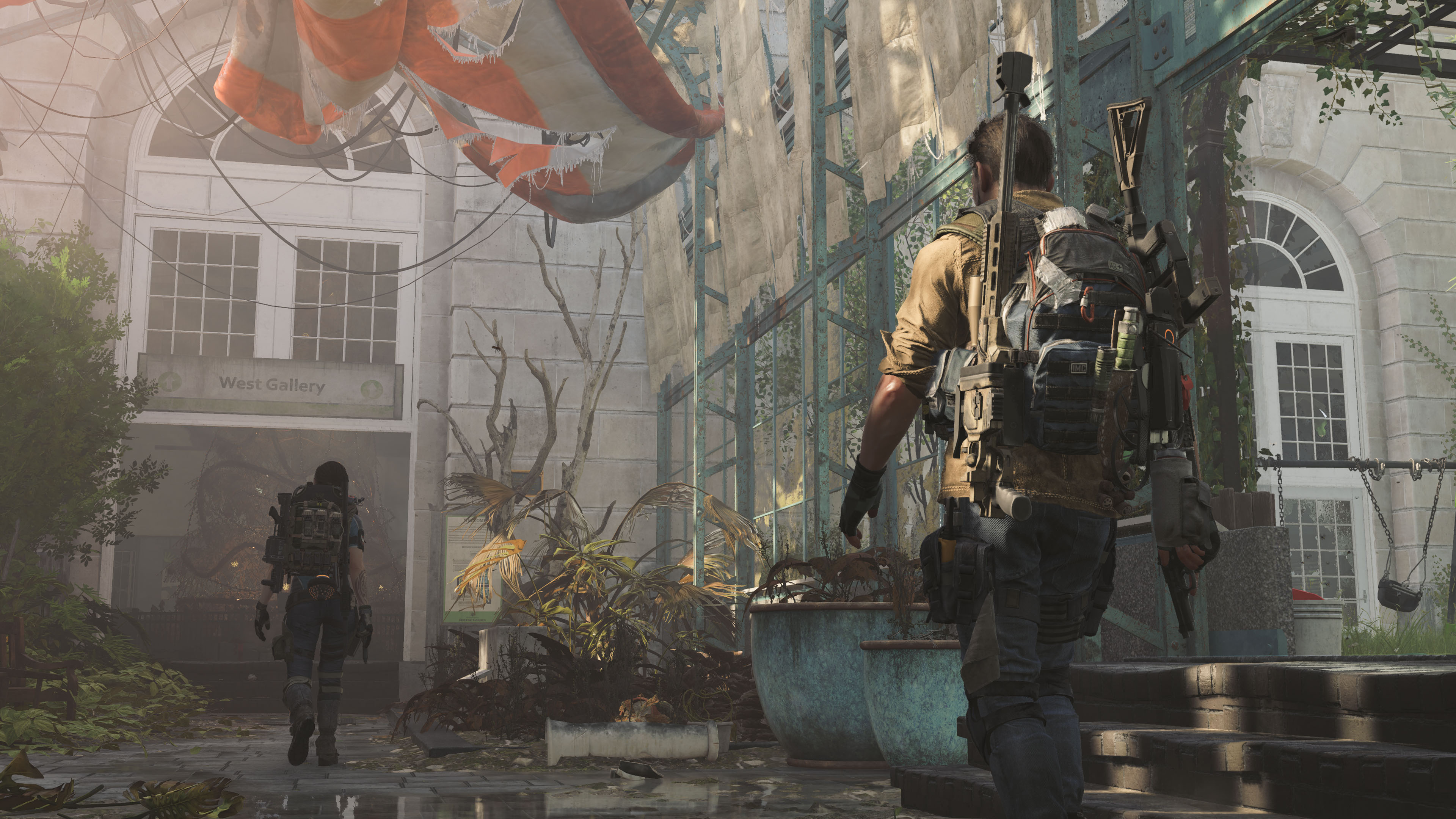 Datamining efforts give us a vague look at what The Division 2's first raid might be screenshot