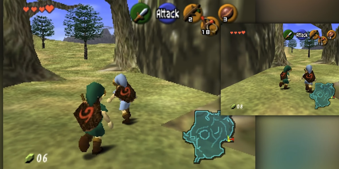 Someone is making a lovely co-op mod for Zelda: Ocarina of Time