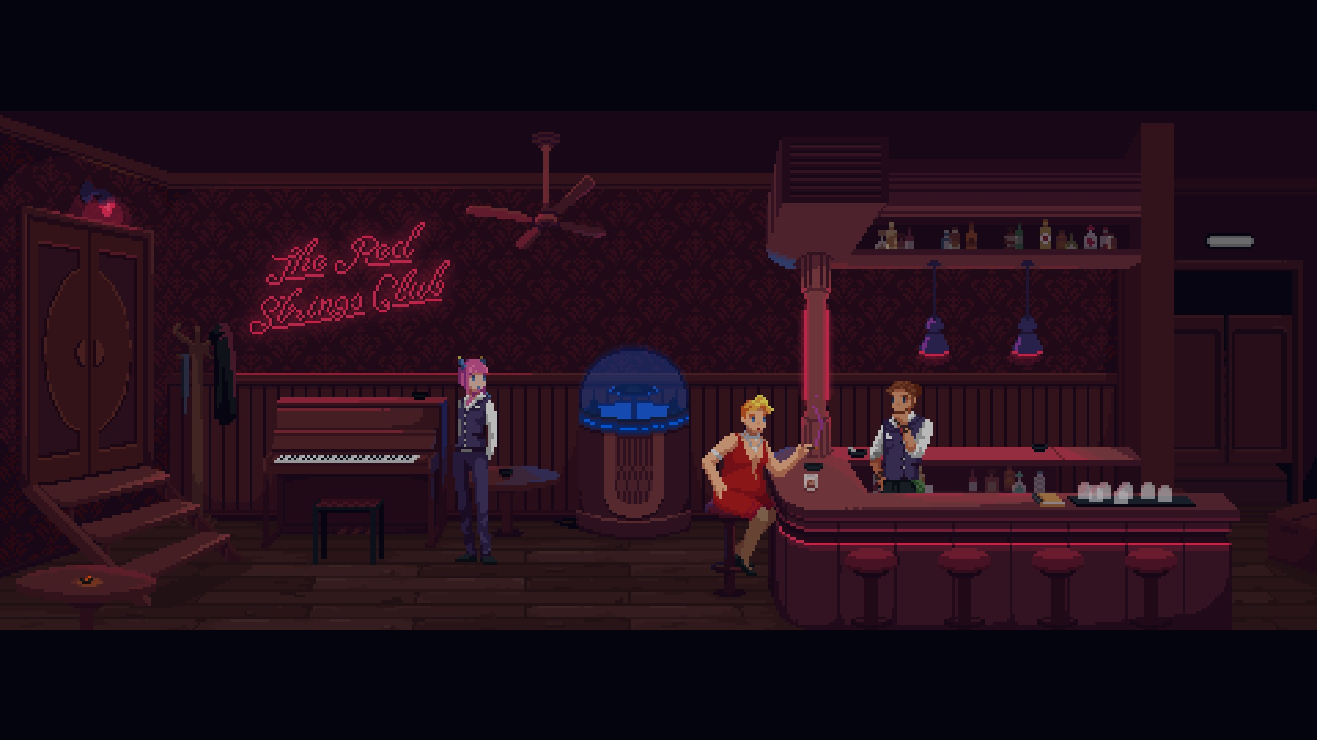 Contest: Win a Switch copy of The Red Strings Club screenshot
