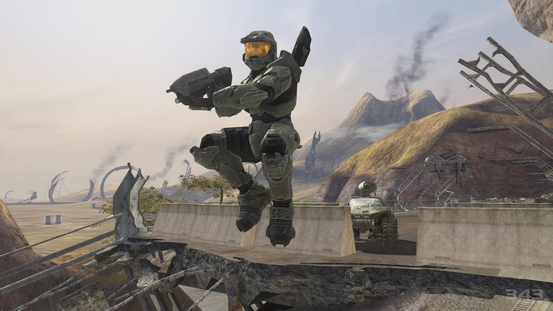 Halo's PC ports won't require Windows 10 screenshot