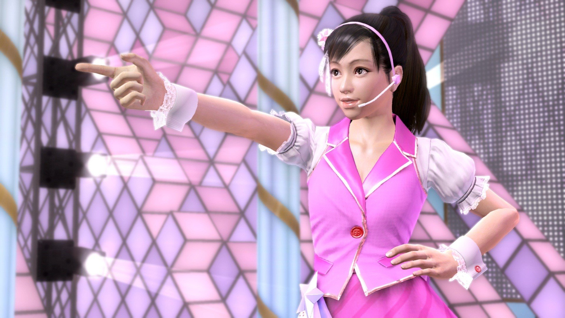 Yakuza 5 running on PS4 is a clear improvement