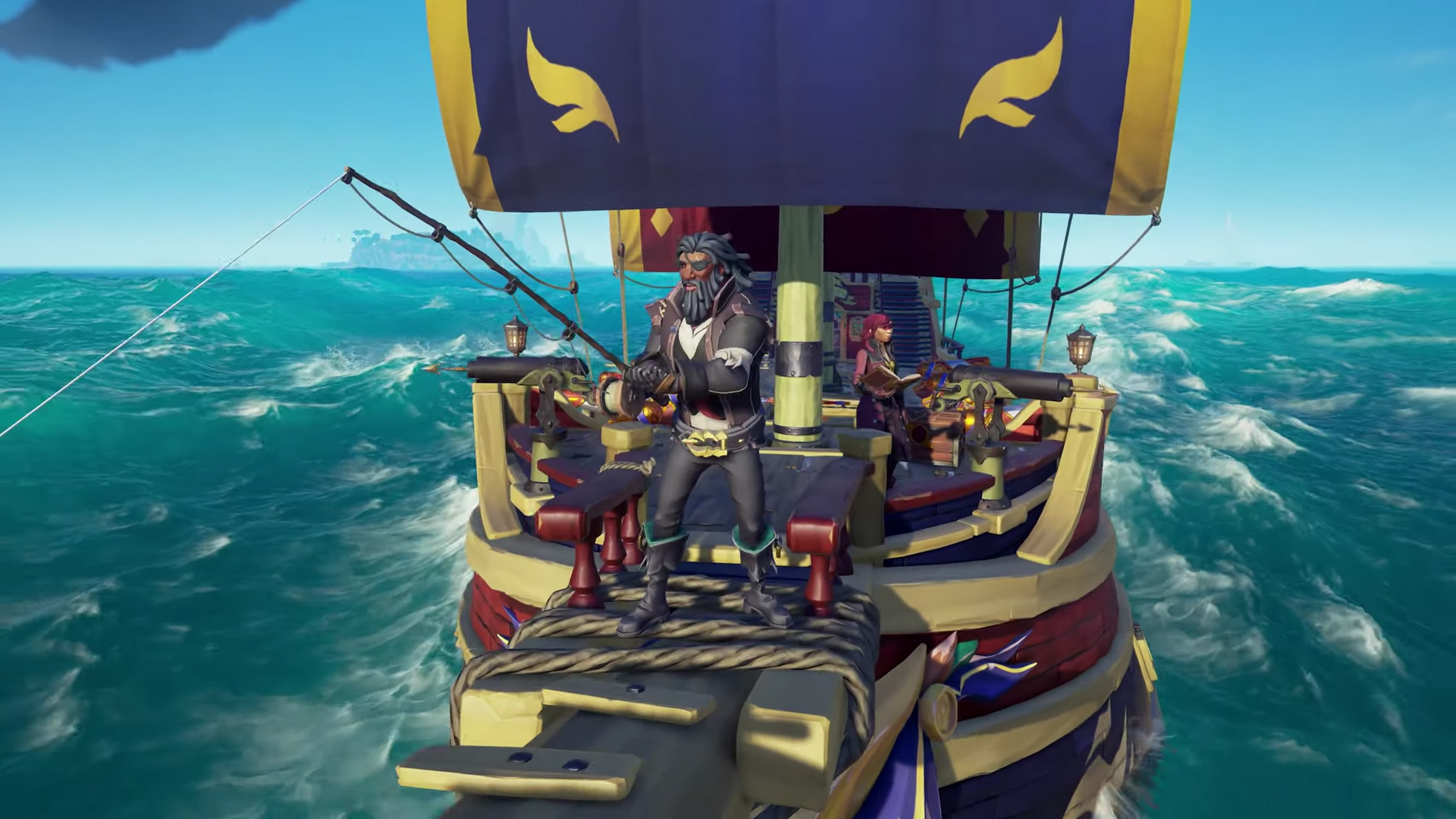 Sea of Thieves Anniversary update teases fishing and 'story-rich quests' screenshot