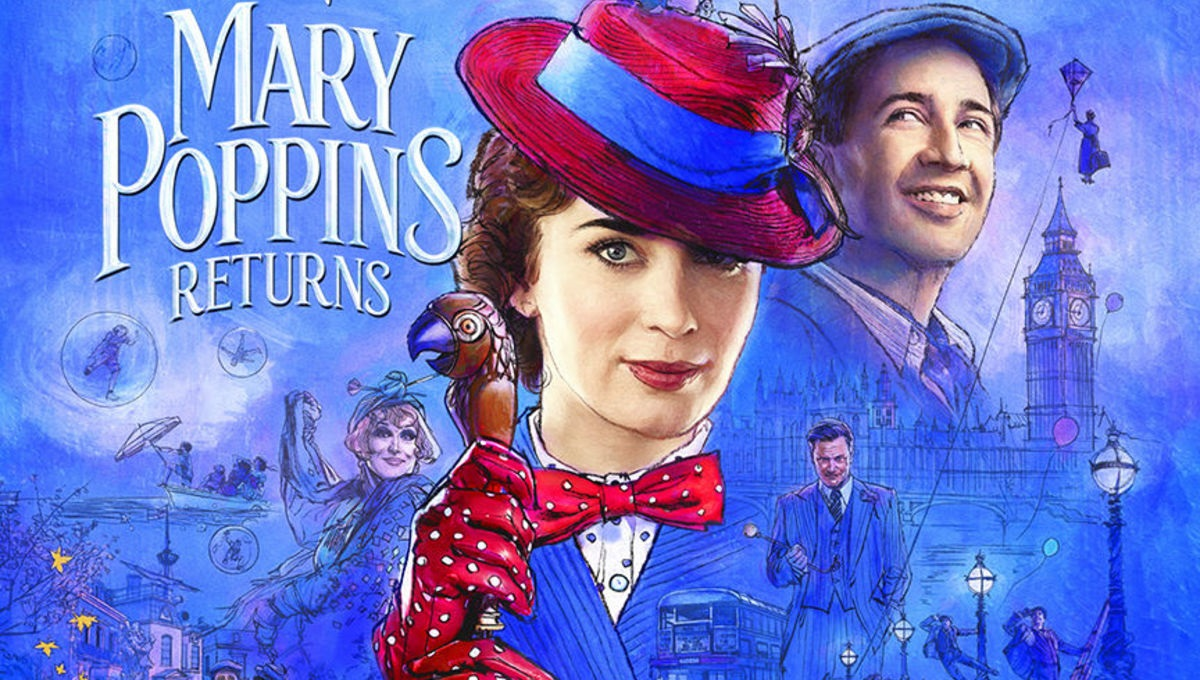Contest: Win a Blu-ray copy of Mary Poppins Returns screenshot