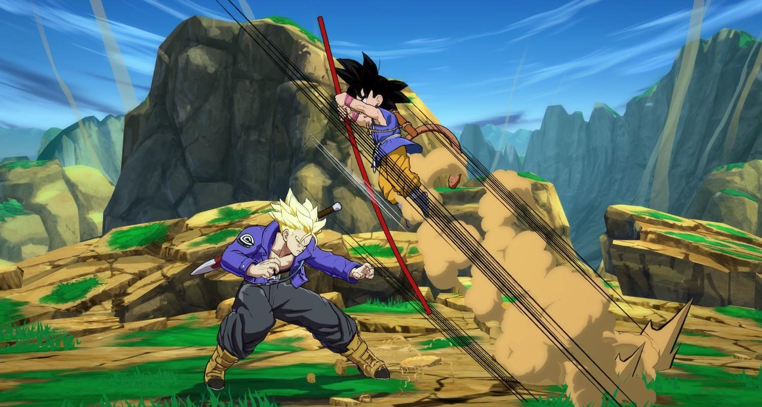Get a good look at Dragon Ball FighterZ's GT-era Goku screenshot