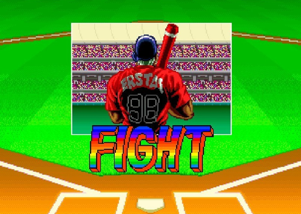Score the ultimate touchdown with SNK's Neo Geo Baseball Stars 2 screenshot