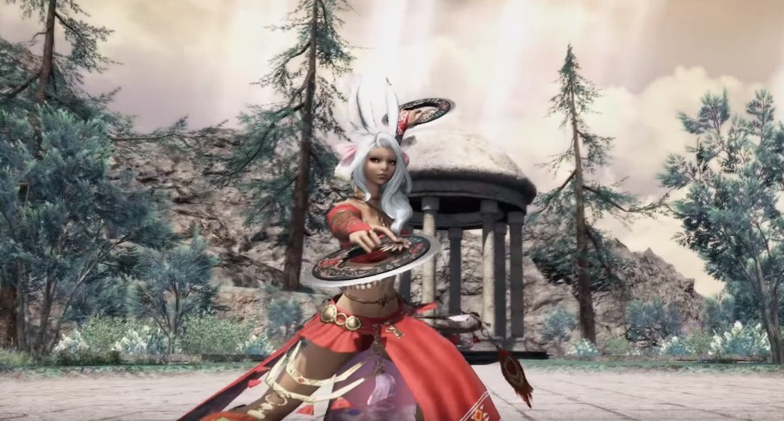 Final Fantasy XIV's Shadowbringers features new Dancer job screenshot
