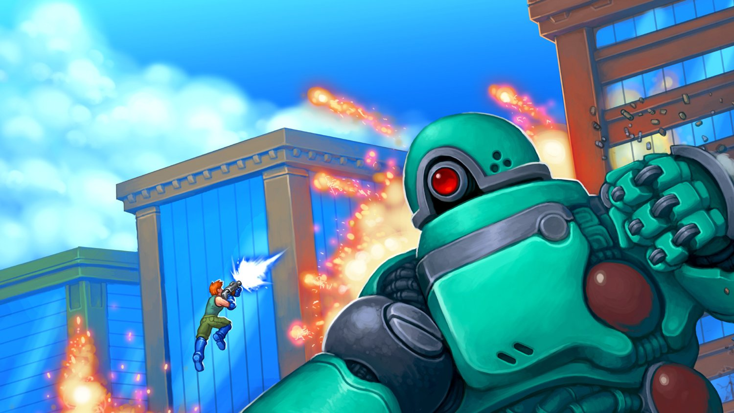 The creator of Gunman Clive talks giant robots, gay kisses, and going indie