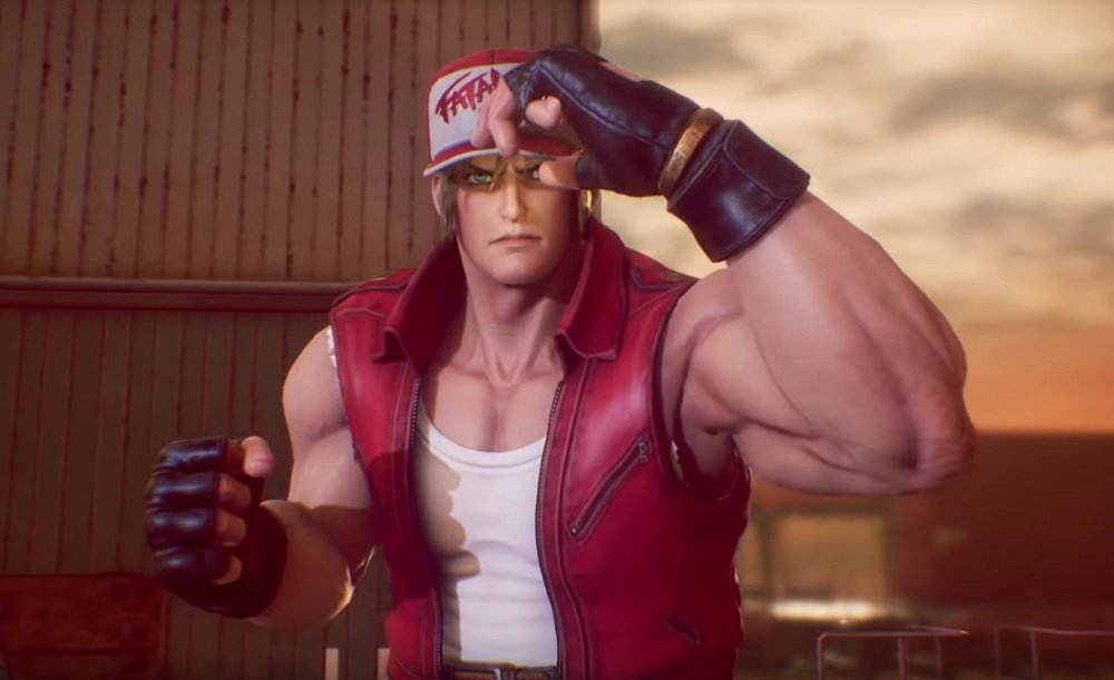 Terry Bogard and Sharon arrive in Fighting EX Layer this week screenshot