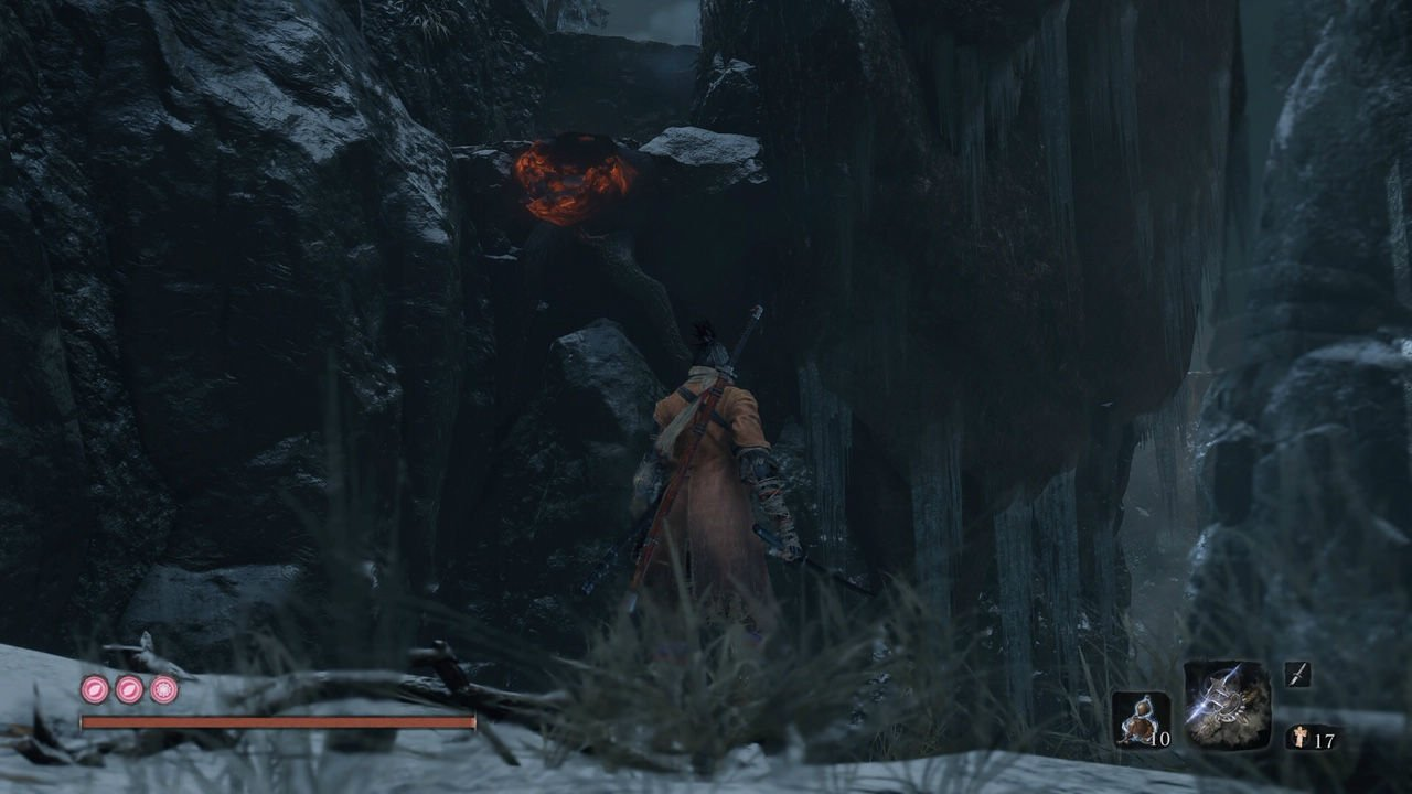 Sekiro guide: How to find the main optional hidden boss for the trophy/achievement screenshot