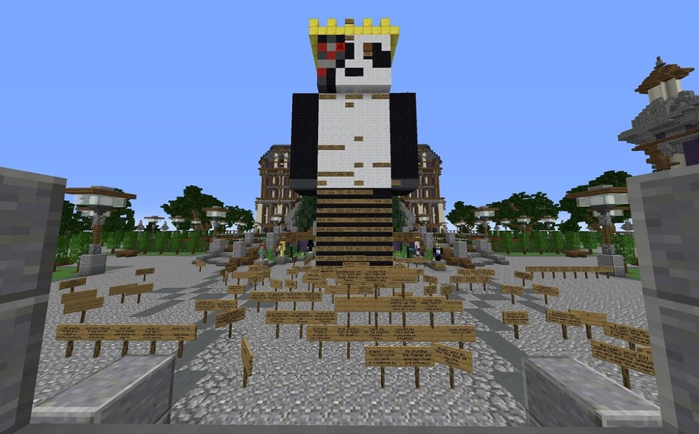Minecraft fans create touching memorial for beloved server host
