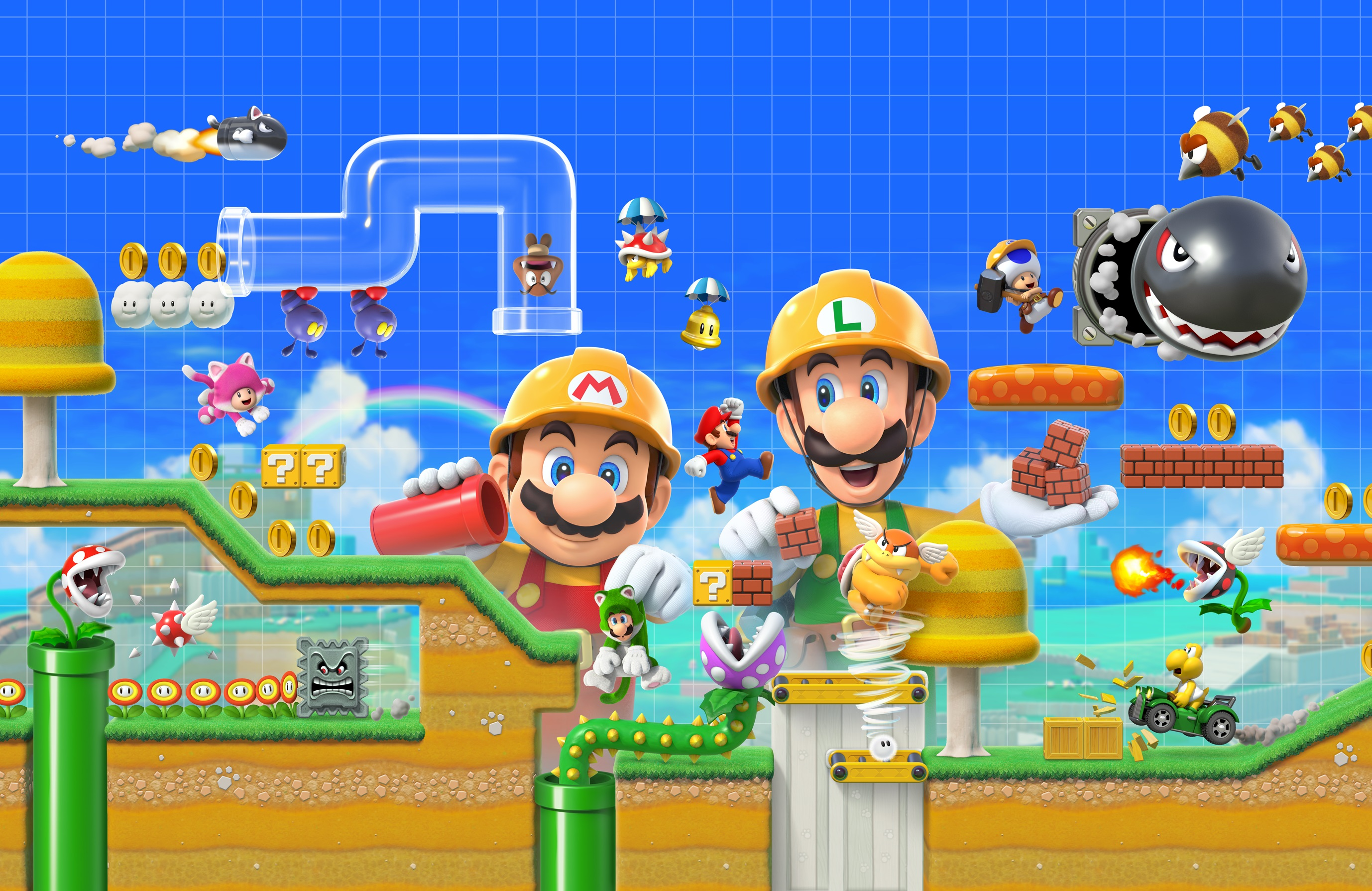 Maybe this is the release date of Super Mario Maker 2, maybe it isn't