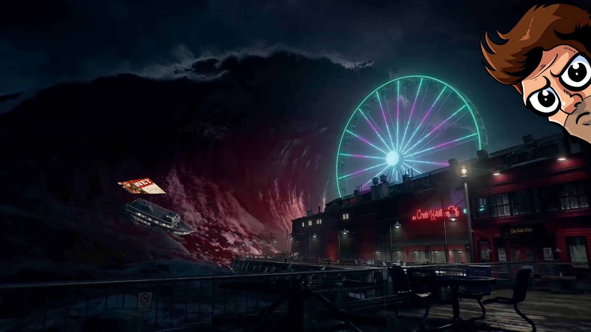 In today's episode of Pregame Discharge, Vampire: The Masquerade Bloodlines 2 has a metal as heck blood tsunami! screenshot