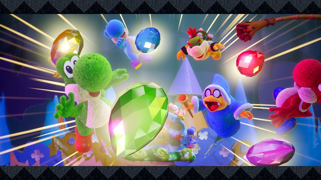 Nintendo Download: Yoshi's Crafted World screenshot