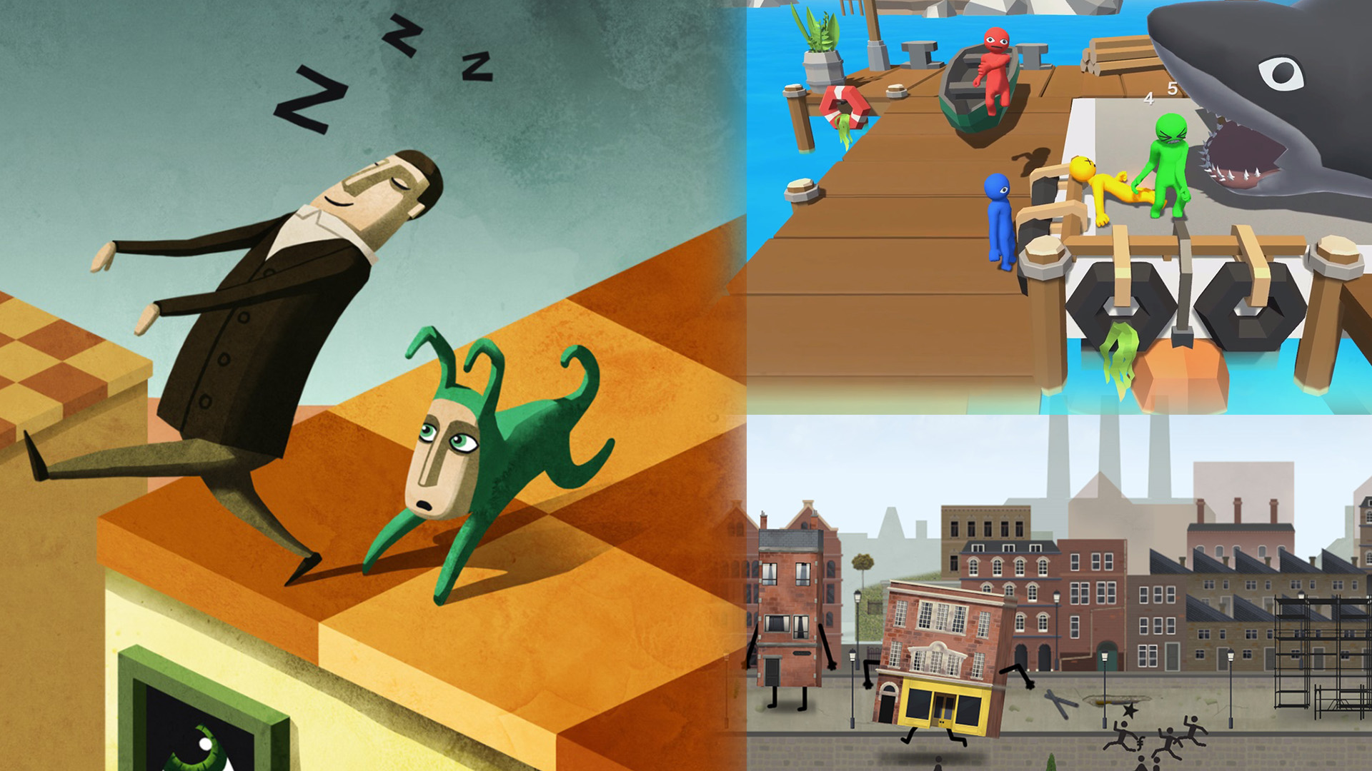Getting Weird with Wes: Flop your friends to death, eat people for house money, and Escher your uncle to bed screenshot