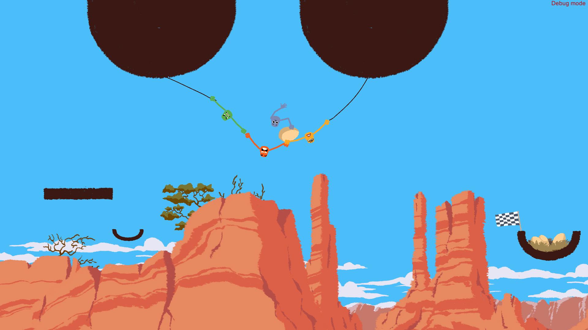 Hand-holding co-op game Heave Ho looks like absurd fun screenshot
