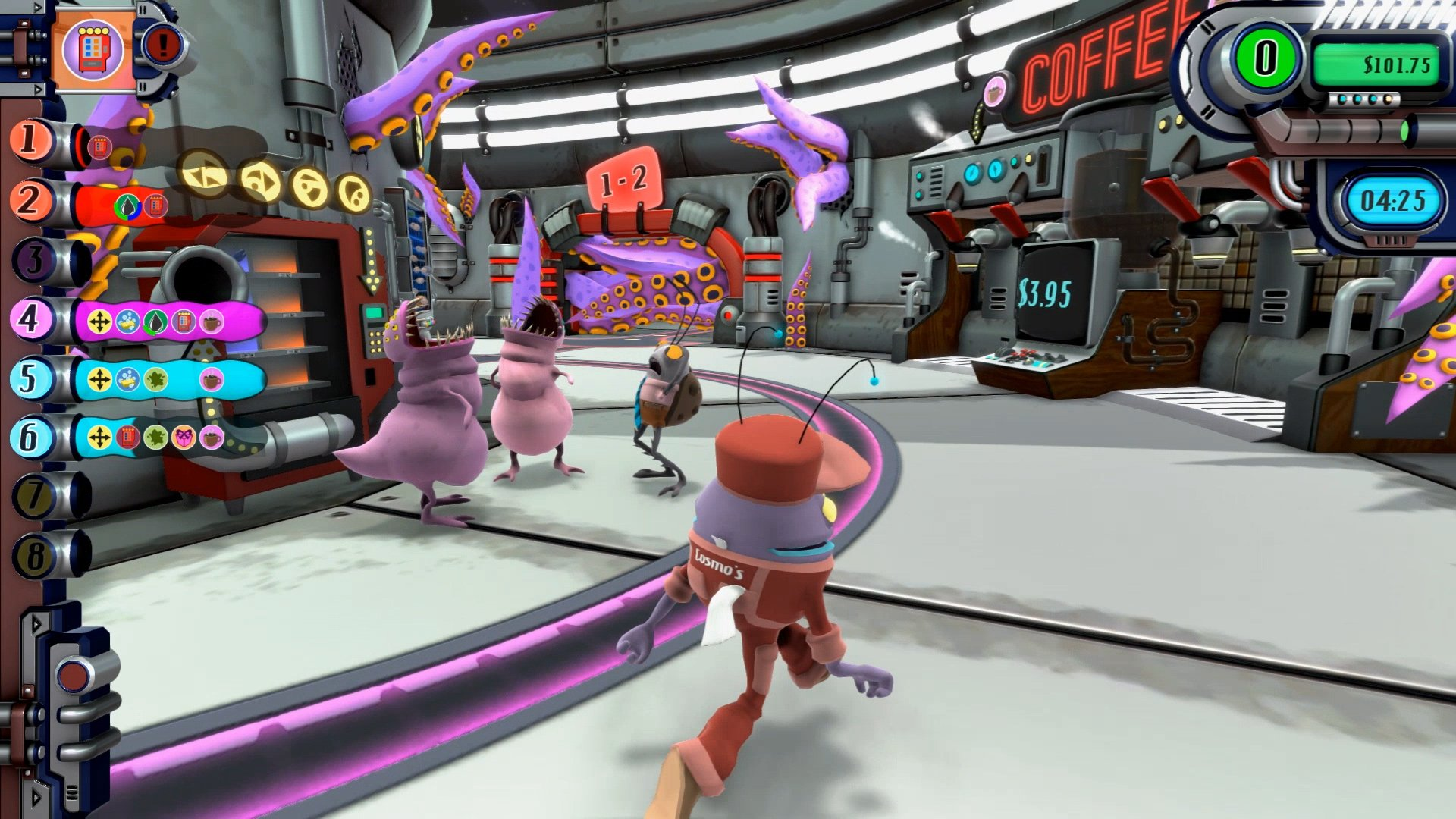 Manage your own interstellar gas station in Cosmo's Quickstop screenshot