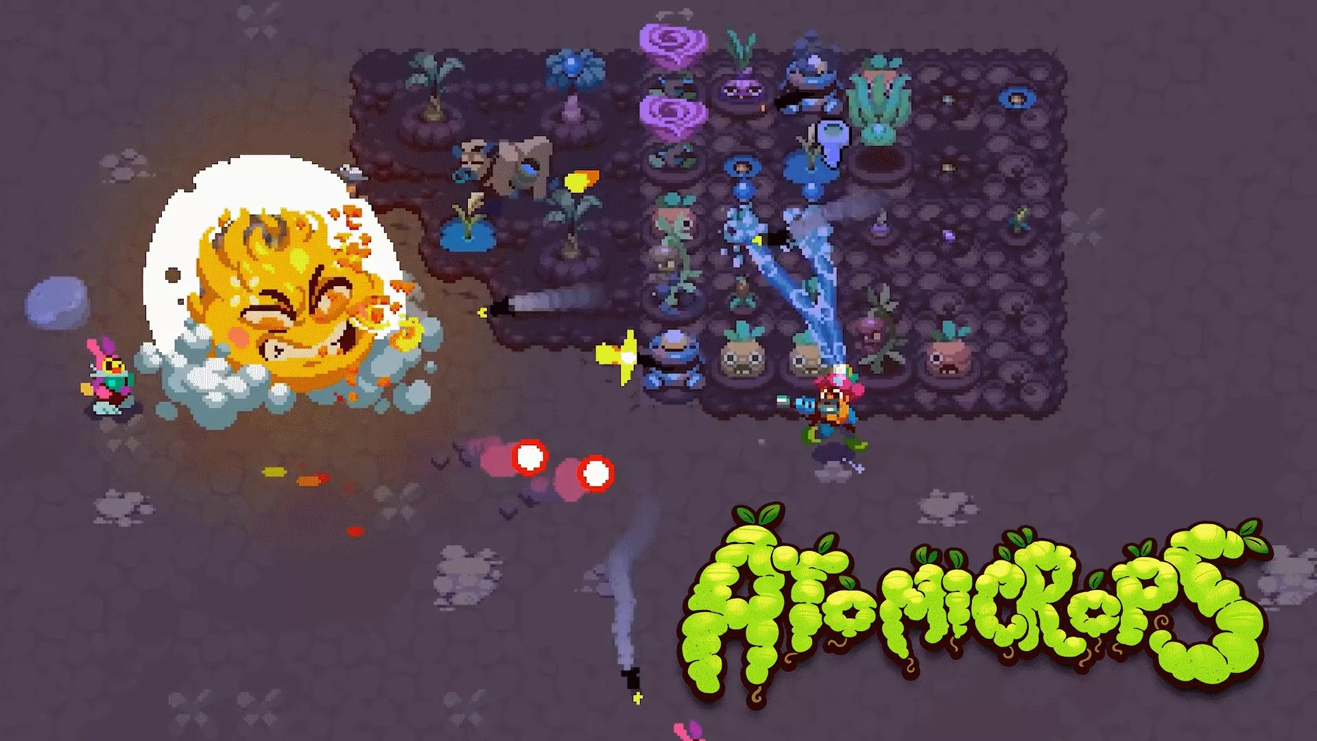 Charming art and loads of potential make Atomicrops a tasty proposition screenshot