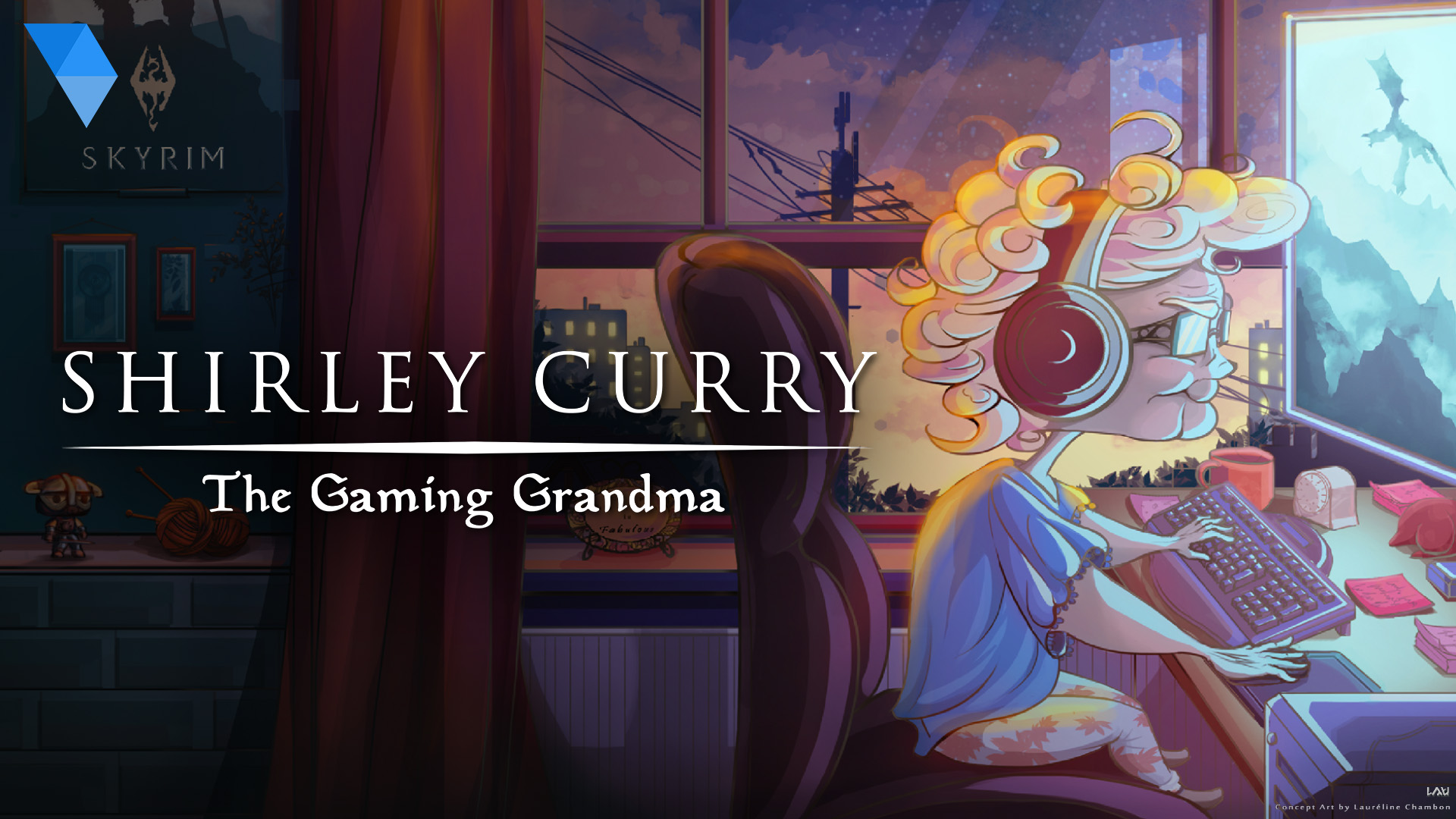 New documentary explores the life of Shirley Curry, The Gaming Grandma screenshot