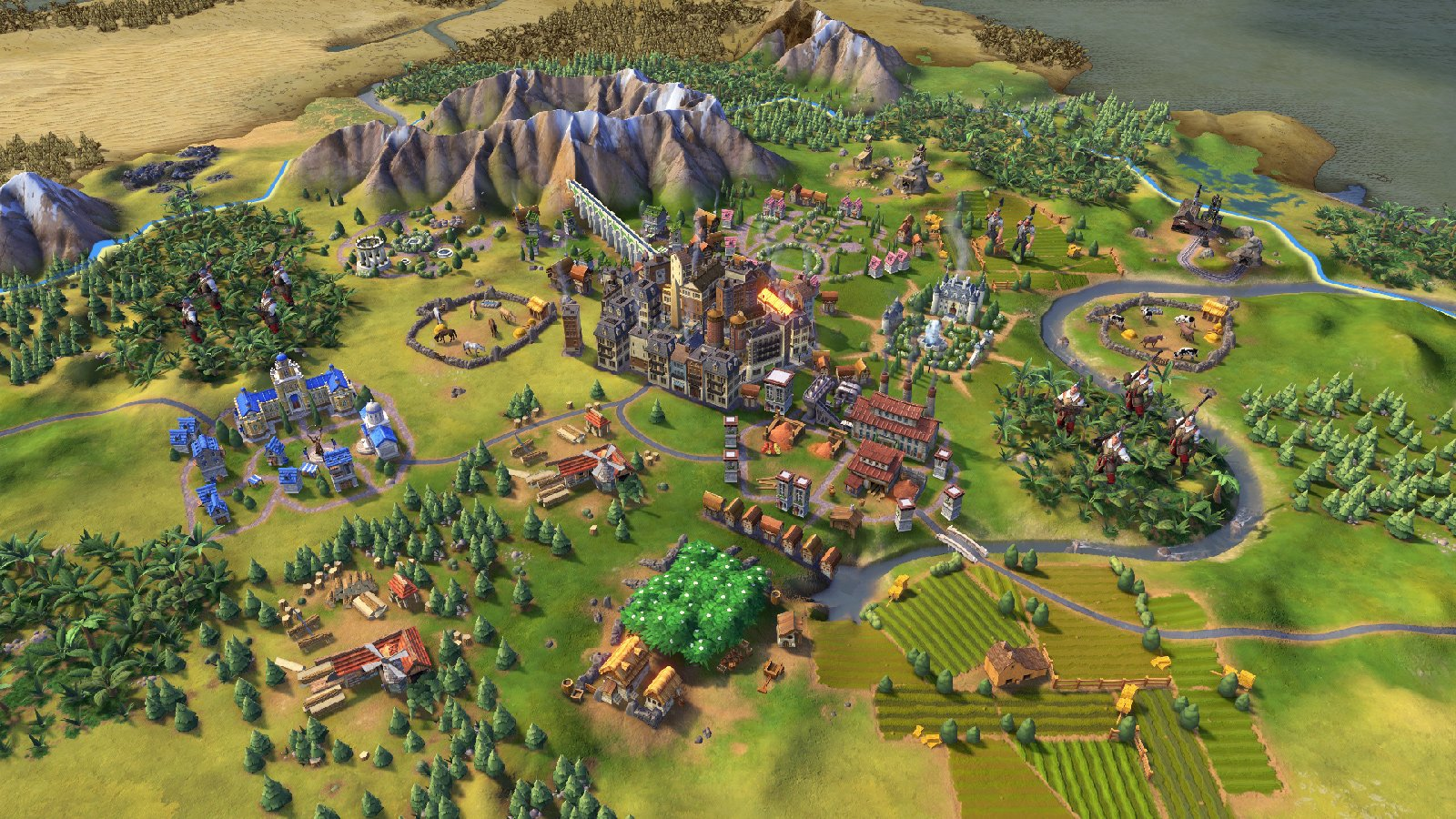 You can bounce between Civilization VI on Steam and Switch with