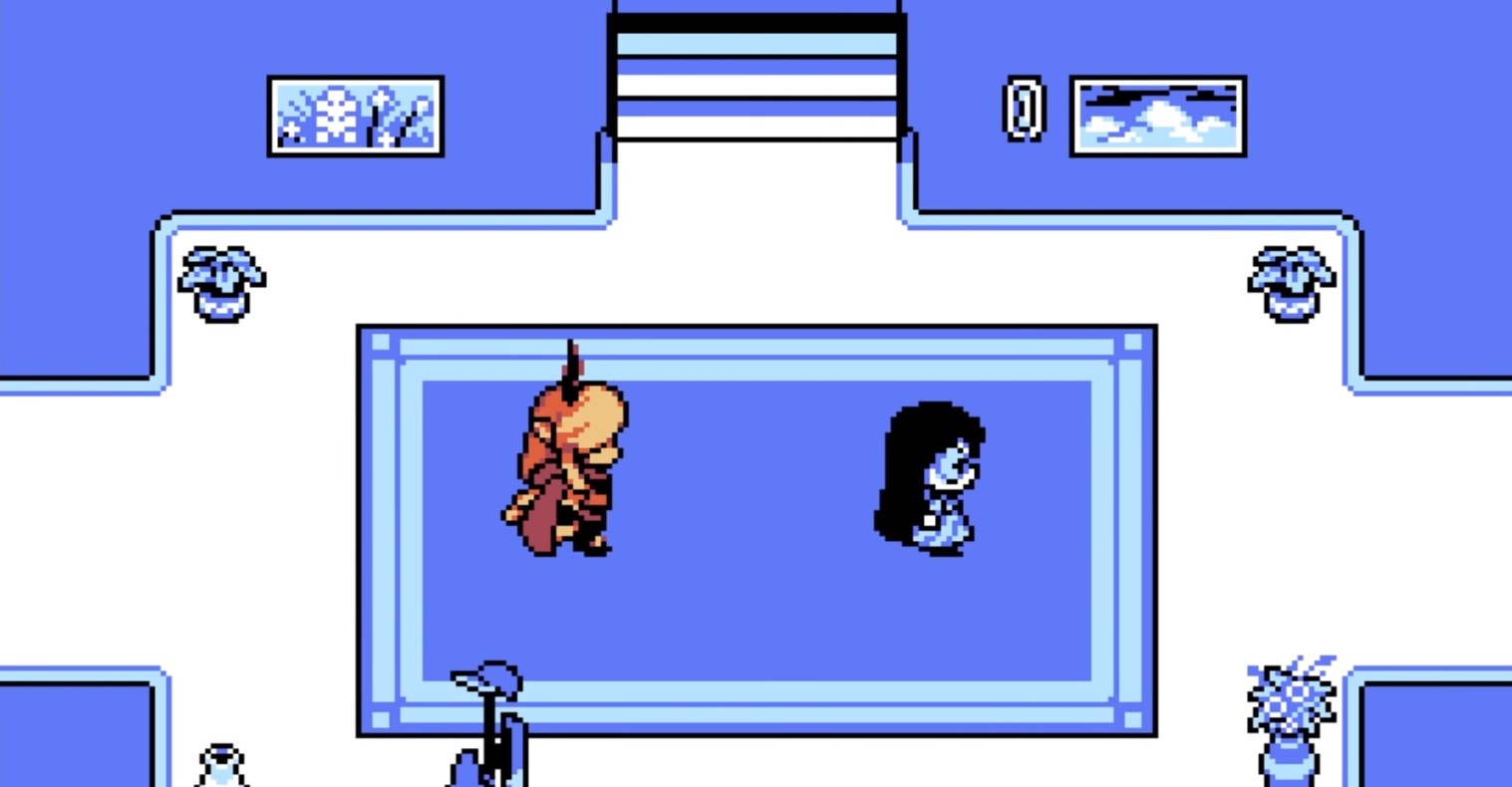 Undertale artist releases free game Escaped Chasm screenshot