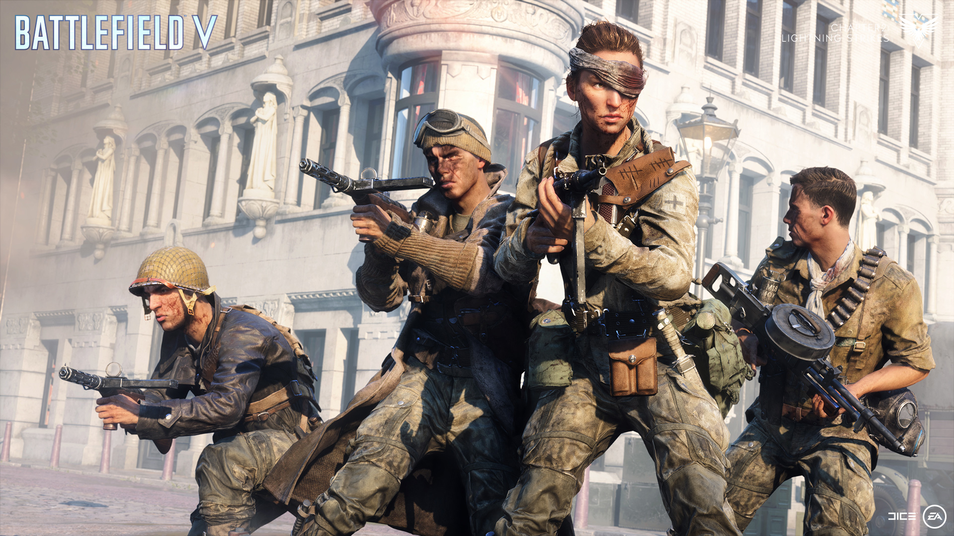 Battlefield V is rolling out real-money cosmetic items and time savers screenshot