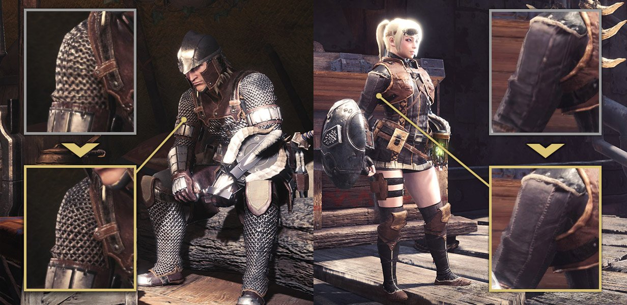 Monster Hunter armor never looked so fine